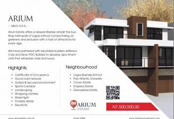 Arium Estate (ready to Build), Abijo G.r.a, Ajah, Lagos, Residential Land for Sale
