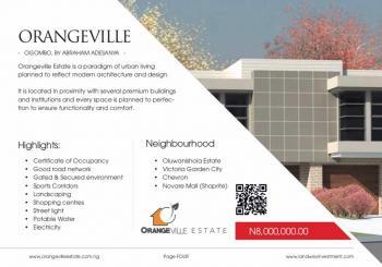 Orange Ville Estate, Off Abraham Adesanya Estate, Ogombo, Ajah, Lagos, Residential Land for Sale