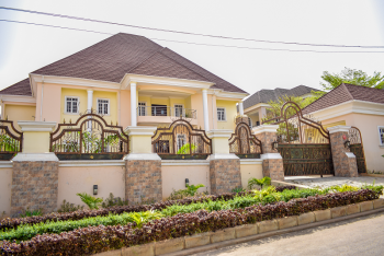 6 Bedroom Mansion Sitting on Land Size of 2,000sqm. an Exquisite Edifice, Asokoro District, Abuja, Detached Duplex for Sale