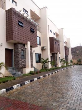 Newly Built 4 Units of 4 Bedroom Terrace Duplex with a Room Servant Quarters, Guzape District, Abuja, Terraced Duplex for Sale