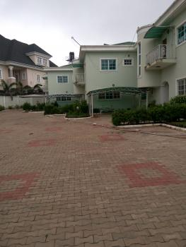 Luxury 4 Units of 4 Bedroom Serviced Terrace Duplex with 2 Rooms Servants, Swimming Pool, Etc, Off Lake Chad Crescent, Maitama District, Abuja, Terraced Duplex for Rent