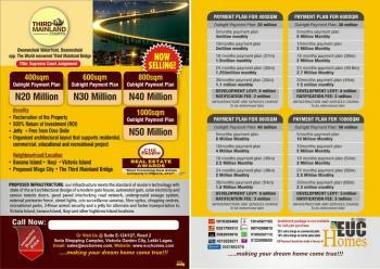 Luxury Land New Beginning, New Life for Lagos Mainlanders - Third Mainland Courts, Ifako Express Ogudu, Oworonshoki, Shomolu, Lagos, Residential Land for Sale