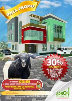 Adron Homes and Properties Offers 30% Off on All Lands and Properties at Ibadan, Lagos and Abuja., Oluyole, Oyo, Residential Land for Sale