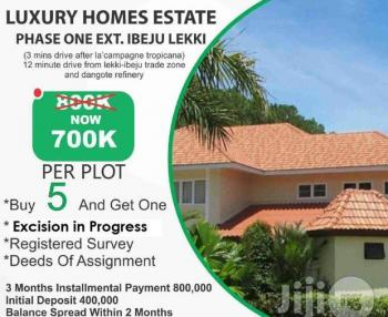 Investment Land Along Akodo Ise Road, Lacampagne Tropicana, Ibeju Lekki - Luxury Homes Phase 1 Ext , Ibeju, After Lacampagne Tropicana, Akodo Ise, Ibeju Lekki, Lagos, Residential Land for Sale