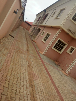 Executive Lovely 3 Bedroom Flat All Round Tiles Floor Pop Ceiling All Room En-suit Each Room with Wardrobe at Baruwa Ipaja Lagos, Peace Estate, Baruwa, Ipaja, Lagos, Flat for Rent
