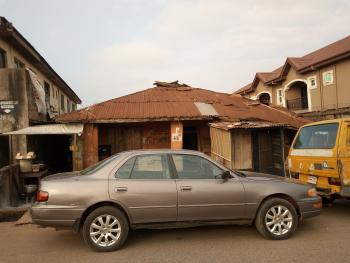 Land with Dilapidated Bungalow, Eyinogun Street, Mafoluku, Oshodi, Lagos, Residential Land for Sale