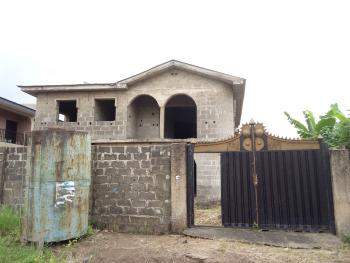 Uncompleted  Duplex with Two Numbers of Three Bedroom Flat, Abaranje, Ikotun, Lagos, Block of Flats for Sale