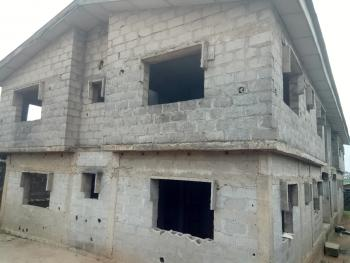 Uncompleted  Story Building of Four Numbers of Three Bedroom Flat, Abaranje, Ikotun, Lagos, Block of Flats for Sale