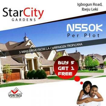 Starcity Gardens, Igbogun Road, Lekki Free Trade Zone, Lekki, Lagos, Residential Land for Sale