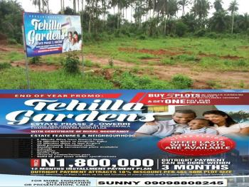 Buy 3 Plots of Land Get 1 Plot Free in Owerri !! – Tehilla  Gardens Estate Phase 2., Owerri, Imo, Mixed-use Land for Sale