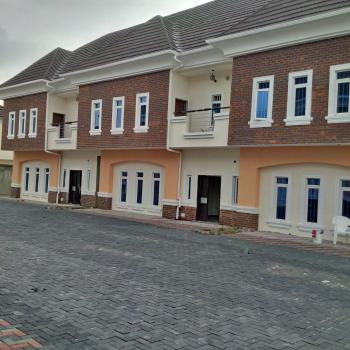 Nicely Finished 3-bedroom Terrace Apartments with Bq for Sale, By First U-turn, Ado, Ajah, Lagos, Terraced Duplex for Sale