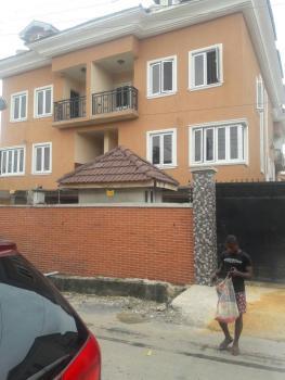 4(nos) 4 Bedroom Terraced Apartments with 1 Room Bq Each on 3 Floors, Ilupeju Estate, Ilupeju, Lagos, Terraced Duplex for Sale