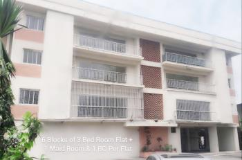 2 Units of 3 Bedroom Duplex & 6 Units of 2 Bedroom Flats with 6 Maid Rooms, 4 Nos. Bqs, Swimming Pool Etc on Two & Half Acres, 48, Marine Road, Gra, Apapa, Lagos, Block of Flats for Sale