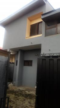 4 Bedroom Wing of Duplex with 2 Rooms Bq, Adeniran Ogunsanya, Surulere, Lagos, Semi-detached Duplex for Rent