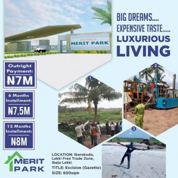 Merit Park Estate By Lekki Free Trade Zone and Shoprite Ibeju Lekki, Iberekodo, Ibeju Lekki, Lagos, Land for Sale