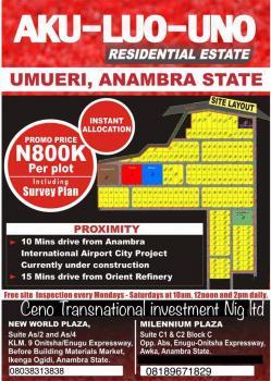 Aku-luo-uno Residental Estate, Umueri, Anambra, Anambra, Residential Land for Sale