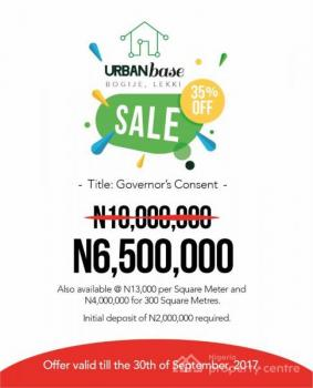 Residential Land - Buy and Build Immediately - Our Smart Urbanbase Estate, Inside Richland Gardens, on Lekki-epe Expressway, Bogije, Shapatti, Ajah, Lagos, Residential Land for Sale