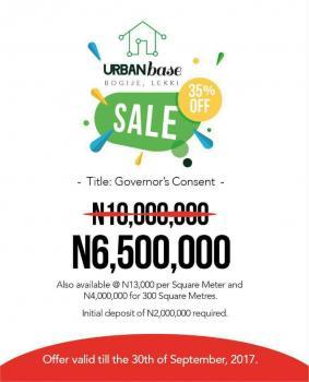 Urban Base Estate, Bogije, Ibeju-lekki. Lagos State., Ibeju Lekki, Lagos, Mixed-use Land for Sale