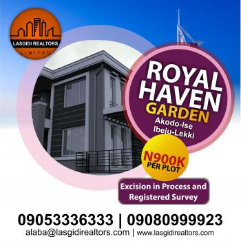 Royal Haven Garden, Akodo Ise, Ibeju Lekki, Lagos, Mixed-use Land for Sale