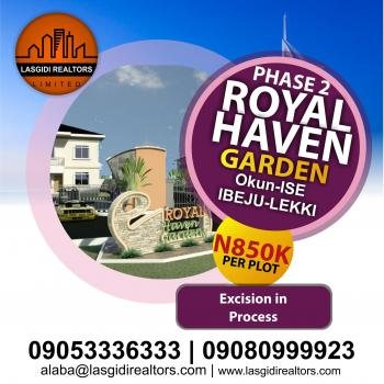 Royal Haven Garden Phase 2, Okun-ise, Ibeju Lekki, Lagos, Mixed-use Land for Sale