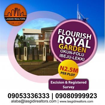 Flourish Royal Garden Phase 2, Okun-folu, Ibeju Lekki, Lagos, Mixed-use Land for Sale