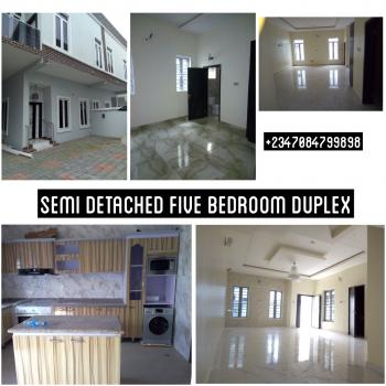 Luxury 5 Bedroom Duplex with Fully Fitted Facilities, Chevron, Chevy View Estate, Lekki, Lagos, Semi-detached Bungalow for Sale