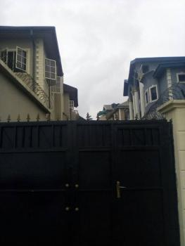 Half Plot of Land with a Solid Duplex Foundation on It, Bemil Estate, Ojodu, Lagos, Residential Land for Sale