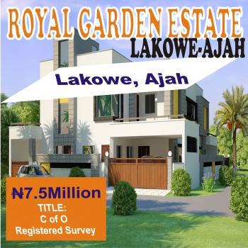 Royal Garden Estate, After Lagos Business School, Lakowe, Ajah, Lagos, Residential Land for Sale