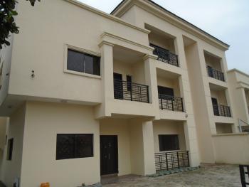 a 4 Bedroom with 2 Room Penthouse & Bq Semi Detached House (osborne 1), Osbourne Phase One, Osborne, Ikoyi, Lagos, Semi-detached Duplex for Rent