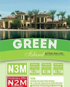 Plots of Land, Iba Oloja ( Behind Lekki Free Trade Zone), Eleko, Ibeju Lekki, Lagos, Residential Land for Sale