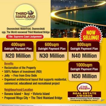 Third Mainland Estate, Near Global Impact Church, Oworoshoki, Eko Atlantic City, Lagos, Residential Land for Sale