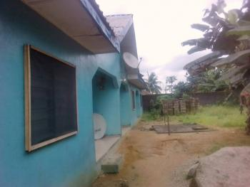 Fenced One & Half Plot with Gate, It Has 3 one Bedroom Flats in It and It Has Electricity, The Buildings Are Complete, 7b Deeper Life Street, Oyigbo ,rivers State., Oyigbo, Rivers, Flat for Sale