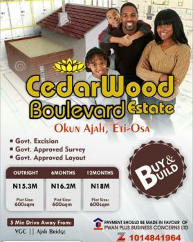 Cedarwood Boulevard, Okun -ajah, Abraham Adesanya Estate, Ajah, Lagos, Mixed-use Land for Sale