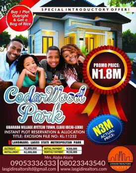 Cedar Work Park, Gbarada Village, Ayeteju Town, Eluju, Ibeju Lekki, Lagos, Residential Land for Sale
