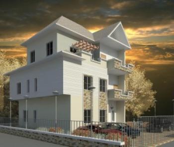 5 Bedroom Semi Detached, Off New Wuye Market, Wuye, Abuja, Terraced Duplex for Sale