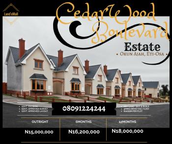 Plots of Land, Cedarwood Boulevard Estate, Abraham Adesanya Estate, Ajah, Lagos, Mixed-use Land for Sale