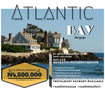 Plots of Land, Atlantic Bay Estate, Awoyaya, Ibeju Lekki, Lagos, Mixed-use Land for Sale