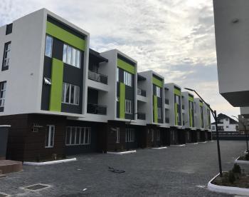 Brand New Contemporary 5 Bedroom Terraced Duplex + 1 Room Bq + Swimming Pool + Gym, Ikate Elegushi, Lekki, Lagos, Terraced Duplex for Rent