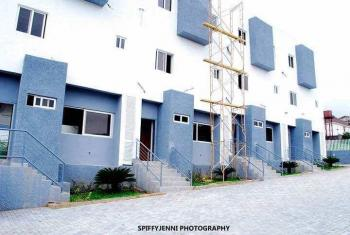4 Bedroom Terrace Duplex with a Room Bq and S/pool, Guzape District, Abuja, Terraced Duplex for Sale