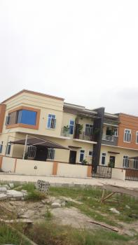 Lovely Built 4 Bedroom Terraced Duplex +1 Room Bq, Chevron-toll Gate, Lekki Expressway, Lekki, Lagos, Semi-detached Duplex for Sale