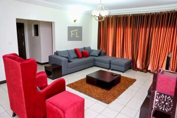 Beautifully Furnished 3 Bedroom  Apartment, Awolowo Towers, Awolowo Road, Falomo, Ikoyi, Lagos, Flat Short Let