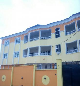 Newly Built 6 Units of Porsche 3 Bedroom Flats on  907.883qm of Land with Two Remotes Control Gate Plus, Cctv Camera, Ogba, Ikeja, Lagos, Block of Flats for Sale