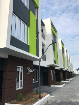 Serviced 5bedroom Terrace Duplex with a Room Bq in a Mini Estate., Ikate Elegushi, Lekki, Lagos, Terraced Duplex for Rent