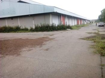 a 12,500 Acres with Over Ten Bays of Warehouses on Very Good Road, Oshodi Apapa Express Way  By Yana Isolo, Oshodi, Lagos, Warehouse for Sale