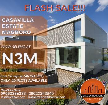Land, Casavilla Estate, Magboro, Ogun, Mixed-use Land for Sale