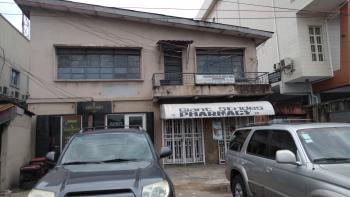 1 Storey Building Block of Flats & Office Space, Beside Diamond Bank on Herbert Macaulay Way., Alagomeji, Yaba, Lagos, Block of Flats for Sale