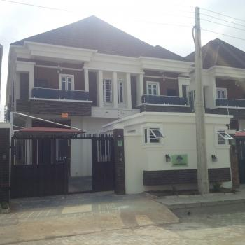 Prime Tastefully Finished 5 Bedroom with Bq, Chevy View Estate, Lekki, Lagos, Semi-detached Duplex for Sale
