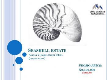 Seashell Estate, Coastal Road, Ibeju Lekki, Lagos, Residential Land for Sale