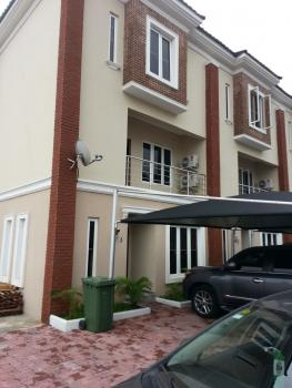 New Exquisite Finishing and Service 4 Bedroom Terrace with Bq, Abiola Court 11, Ikate Elegushi, Lekki, Lagos, Terraced Duplex for Rent