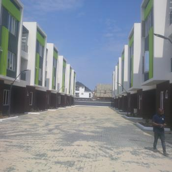Brand New 5 Bedroom Town House, with Gym and Swimming Pool, 24hrs Power Supply, Ikate Elegushi, Lekki, Lagos, Flat for Rent